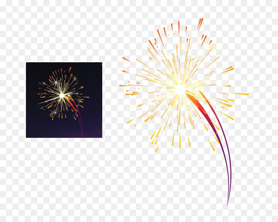 New Year Fireworks Cartoon clipart - Diwali, Sky, Flower