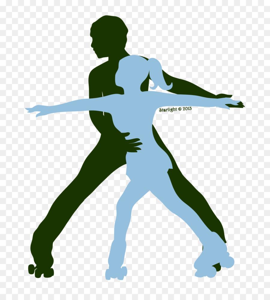 roller skater silhouette clipart Roller skating Quad skates Ice skating