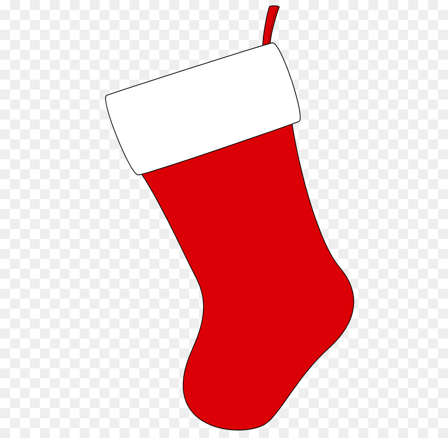 Christmas Stockings Cartoon.Christmas Stocking Cartoon Clipart Red Line Product