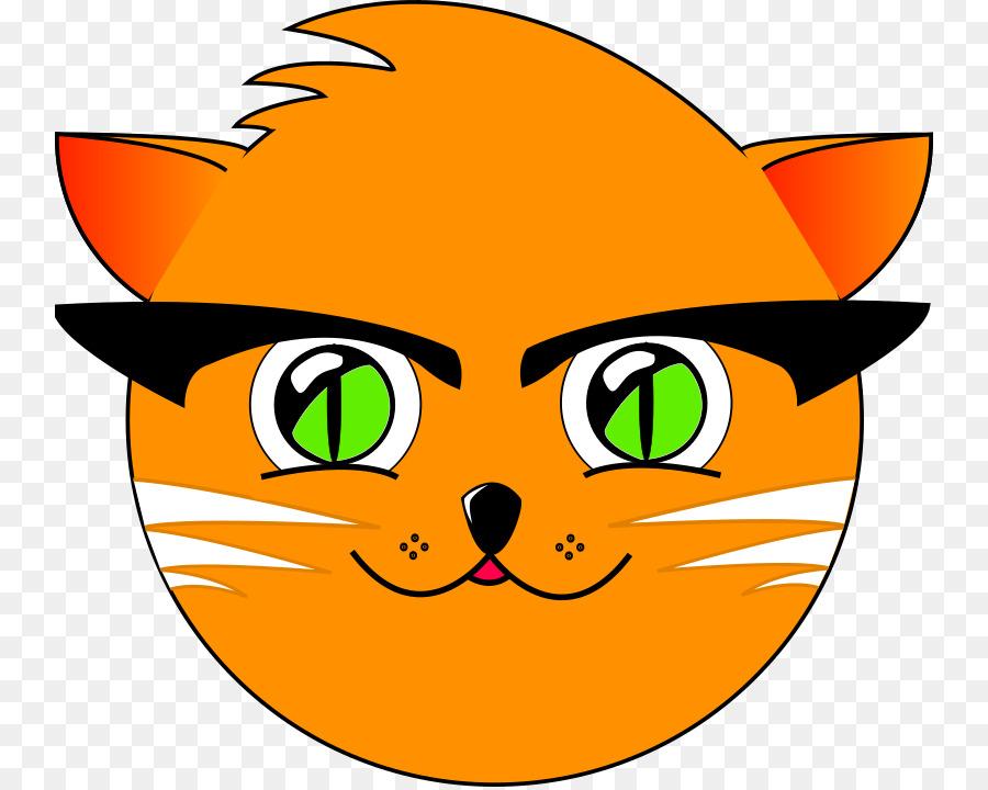 kartun kepala kucing clipart Persian cat Clip art