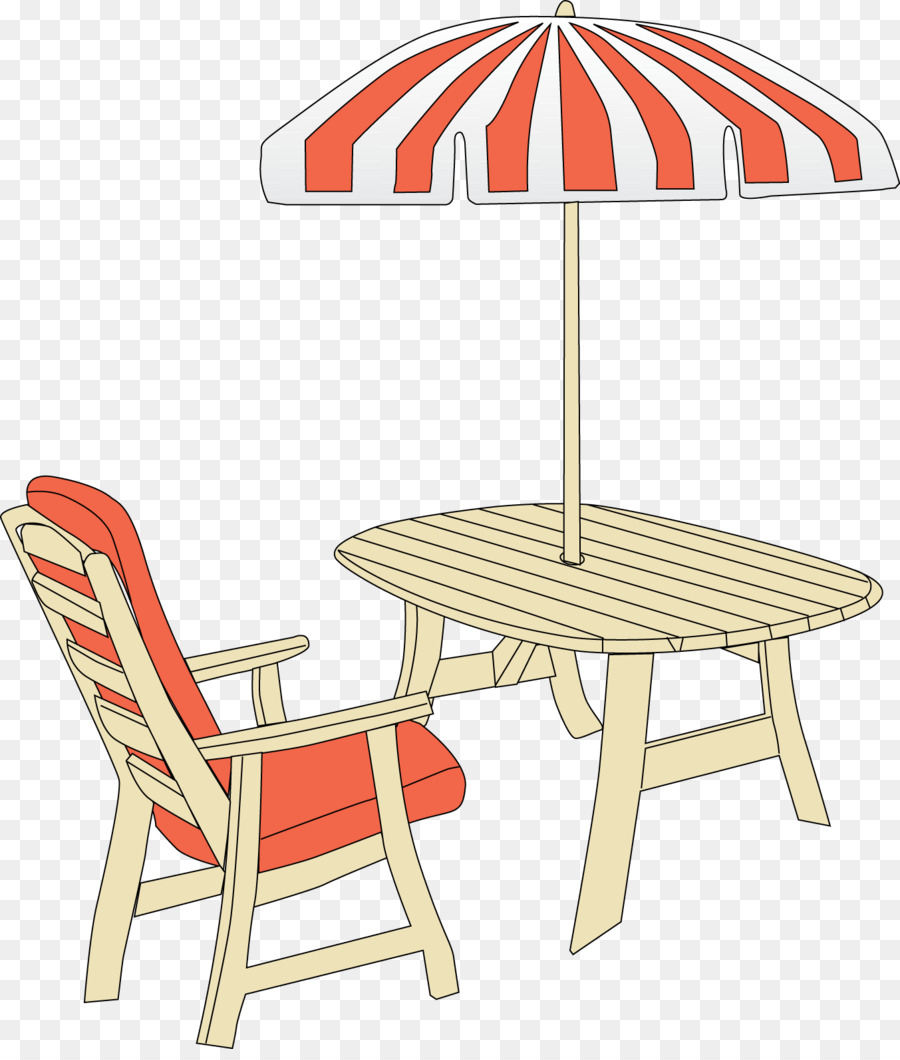 Patio Clip Art Clipart Table Garden Furniture