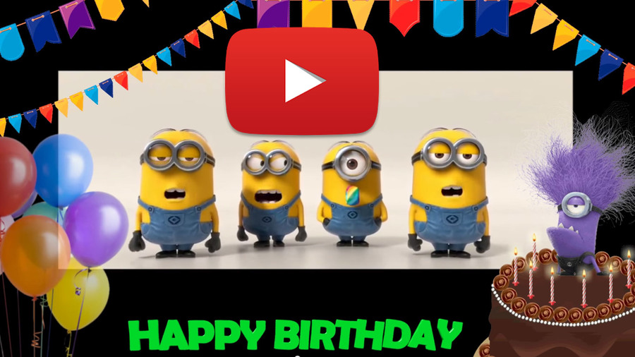 Download Minion Birthday Song Clipart Greeting Note Cards Birthday