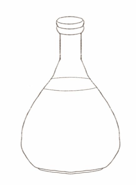 glass bottle clipart Glass bottle Decanter