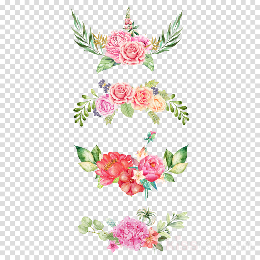 Flower Design Painting Transparent Png Image Clipart Free Download