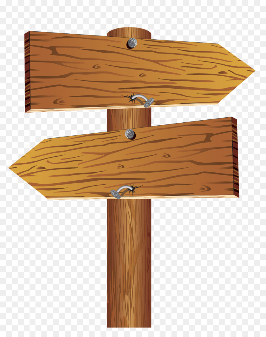 Wood arrow. Sign clipart table transparent