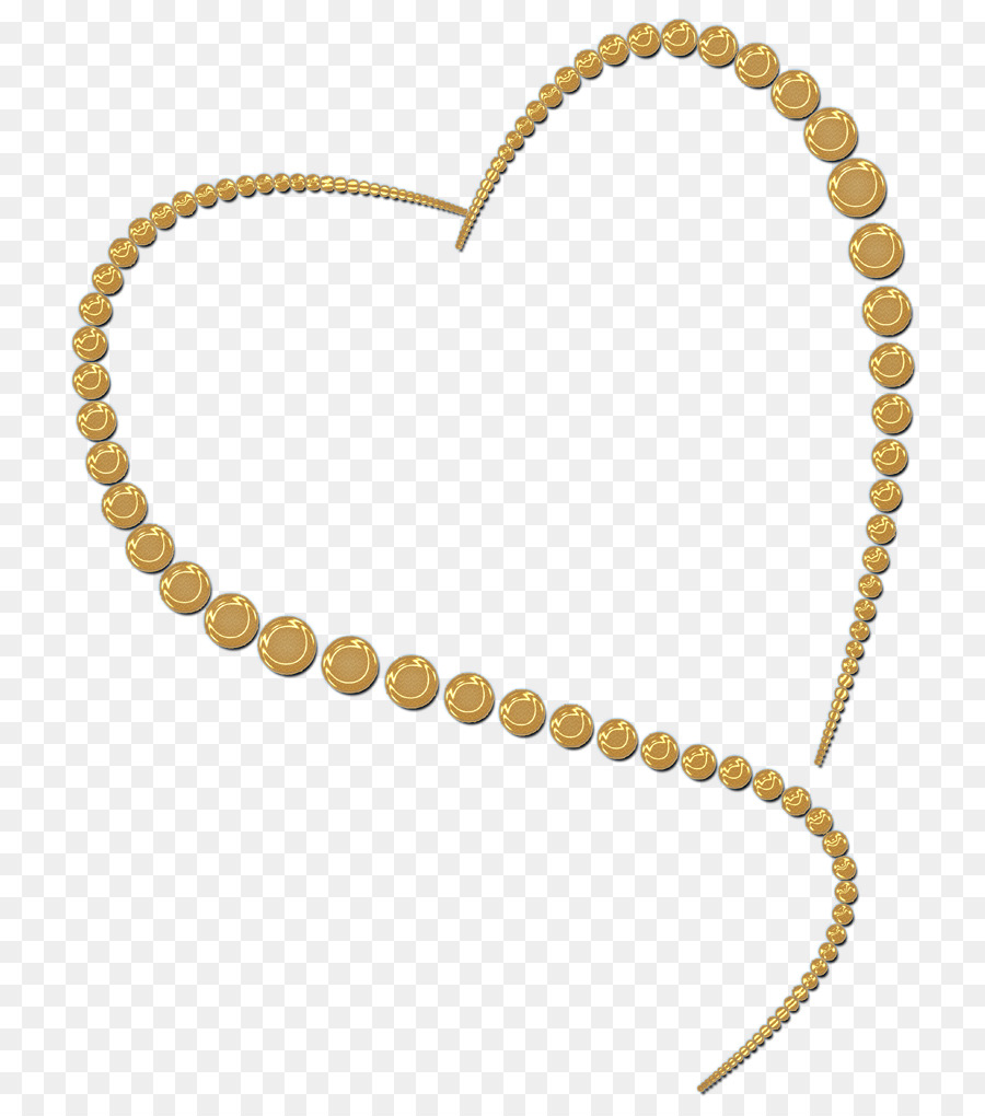 Download gold heart frame png clipart Jewellery Clip art | Gold ...