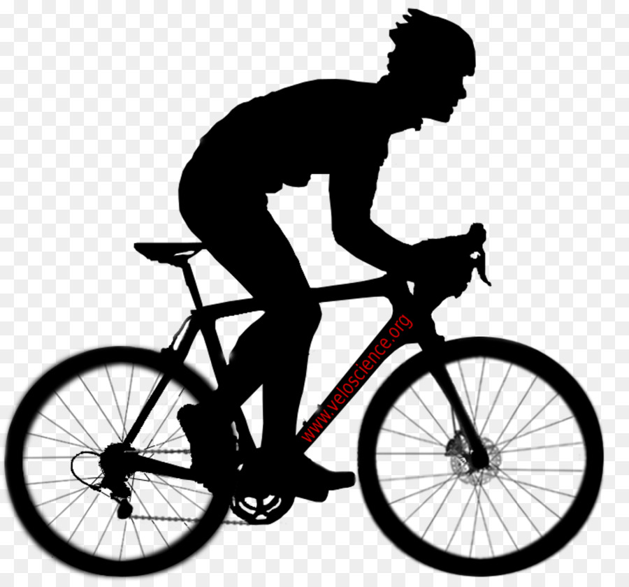 Black And White Frame Clipart Bicycle Cycling Graphics Transparent Clip Art