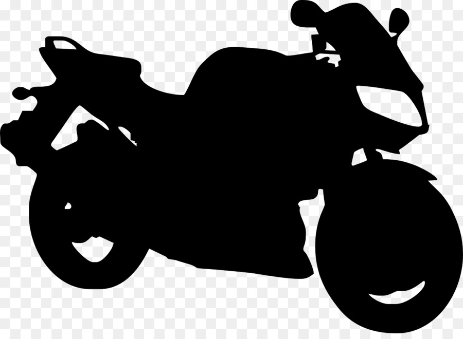 Motorcycle Black Silhouette Transparent Image Clipart Free