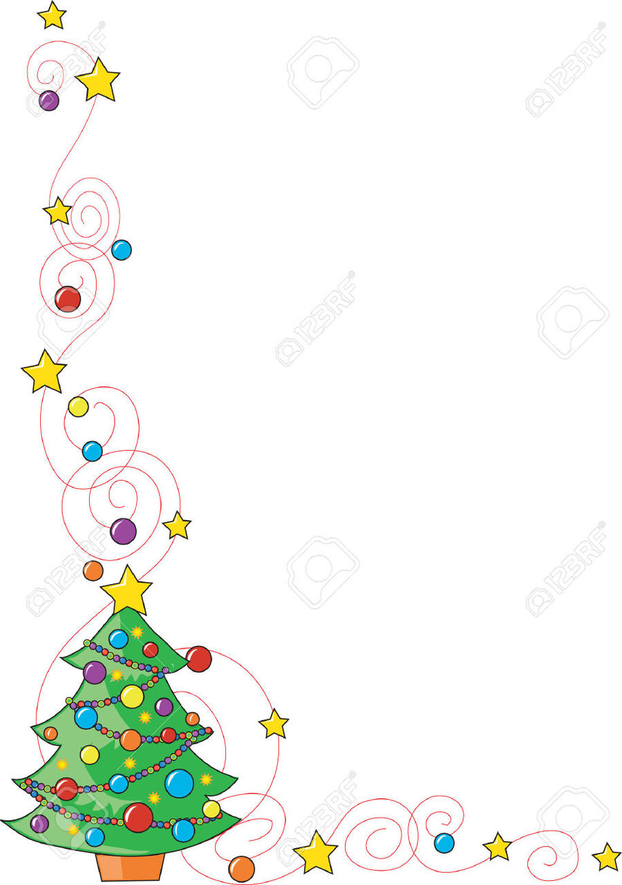 Christmas Tree Borders And Frames Clipart Borders And Frames Christmas Tree Clip Art