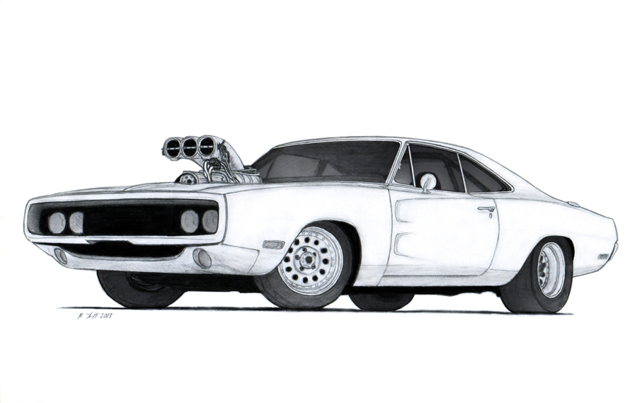 Fast And Furious Coloring Pages Clipart Dodge Charger Book The