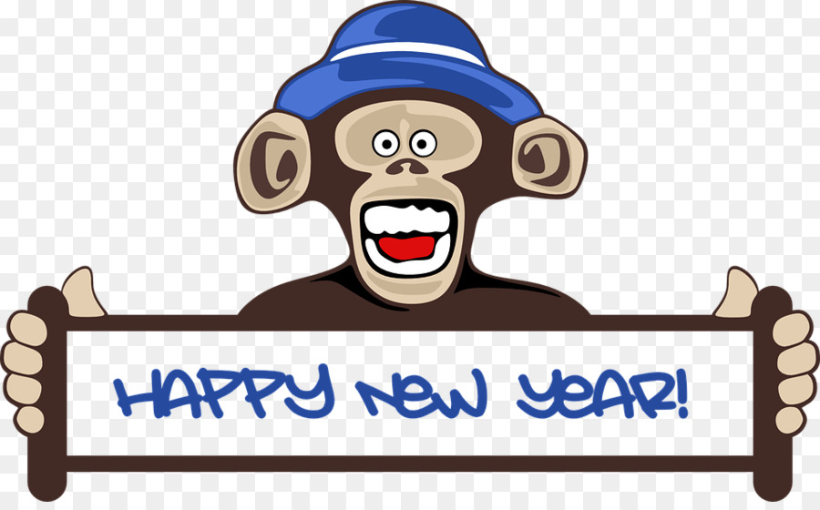 download funny happy new year 2018 clipart new years day clip art