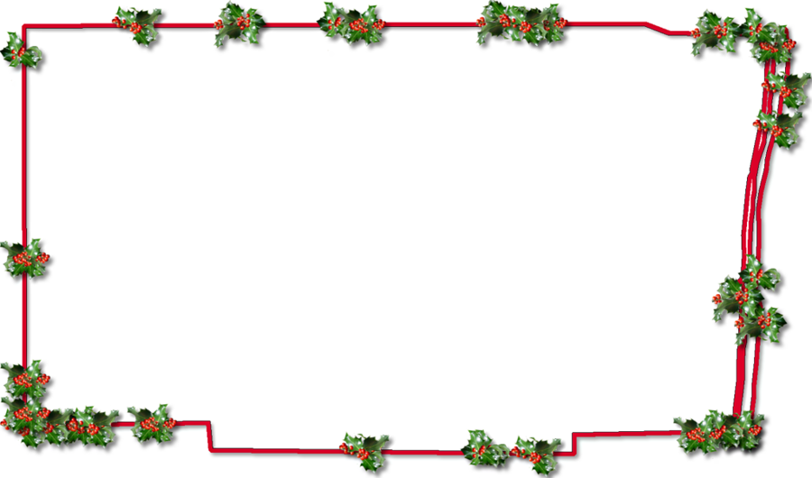 christmas frame png transparent clipart borders and frames picture frames