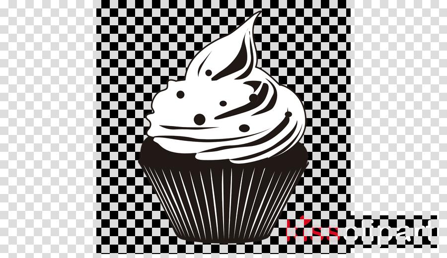 cupcake silueta png clipart Cupcake American Muffins