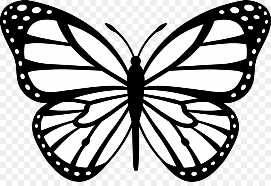 butterfly coloring pages clipart Butterfly Coloring book Colouring Pages