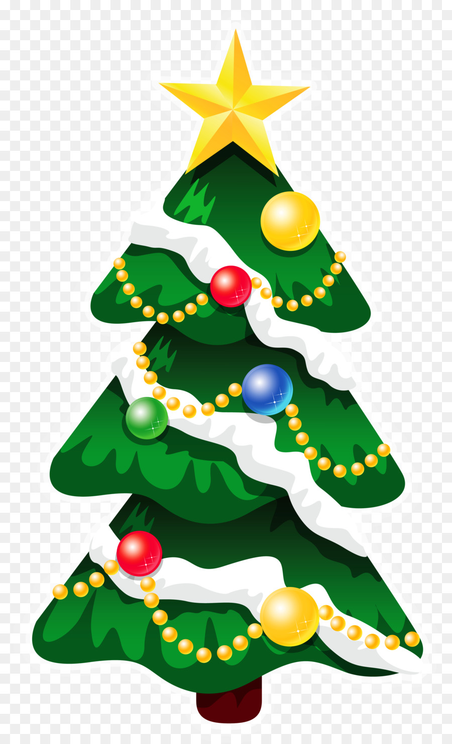 Christmas Tree Illustration.Christmas Tree Illustration Clipart Illustration