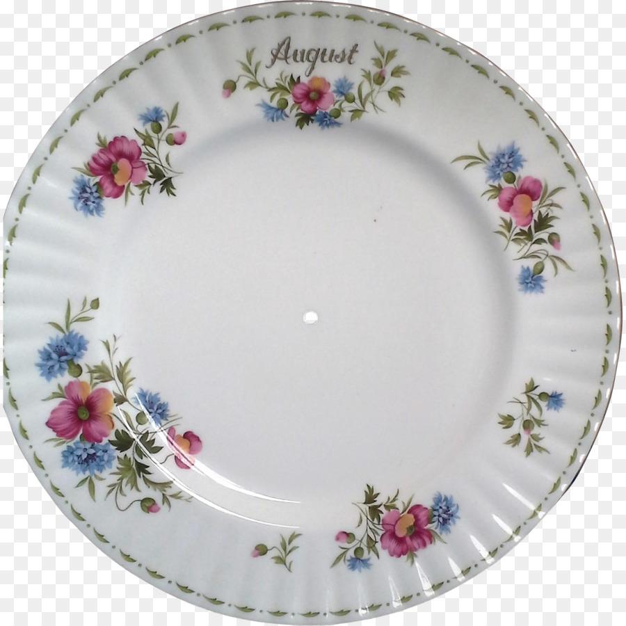 royal albert flower of the month (newer, montrose) dinner plate clipart Plate Tableware Porcelain