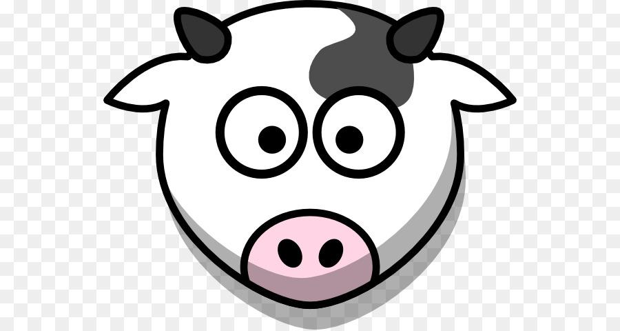 cartoon cow face clipart Beef cattle Holstein Friesian cattle Clip art