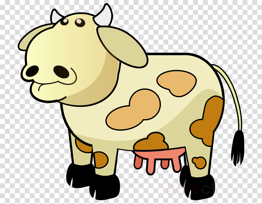 cow colored clipart Beef cattle Guernsey cattle Hereford cattle