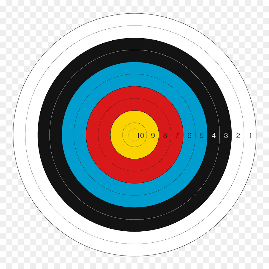 target archery clipart Target archery Shooting sports