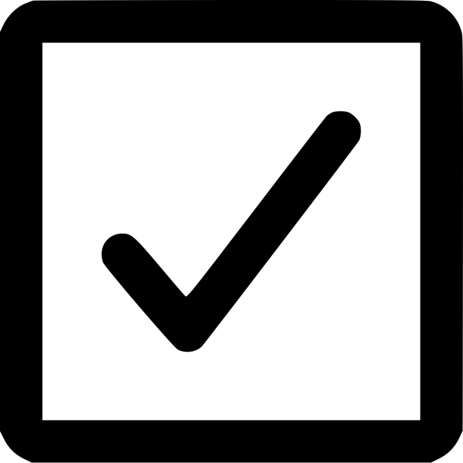 Download Box With Tick Clipart Checkbox Check Mark Computer Icons