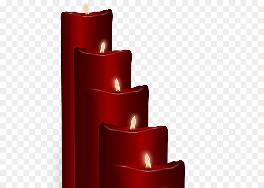 red candles png clipart Candle Clip art