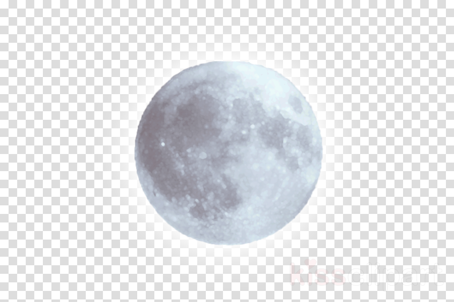 white moon transparent clipart Full moon