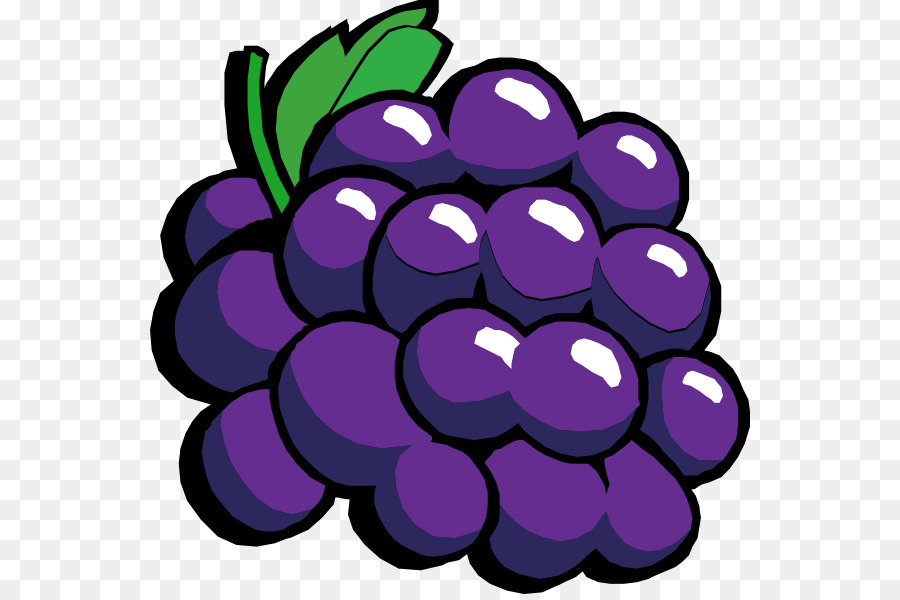 soda clipart grape