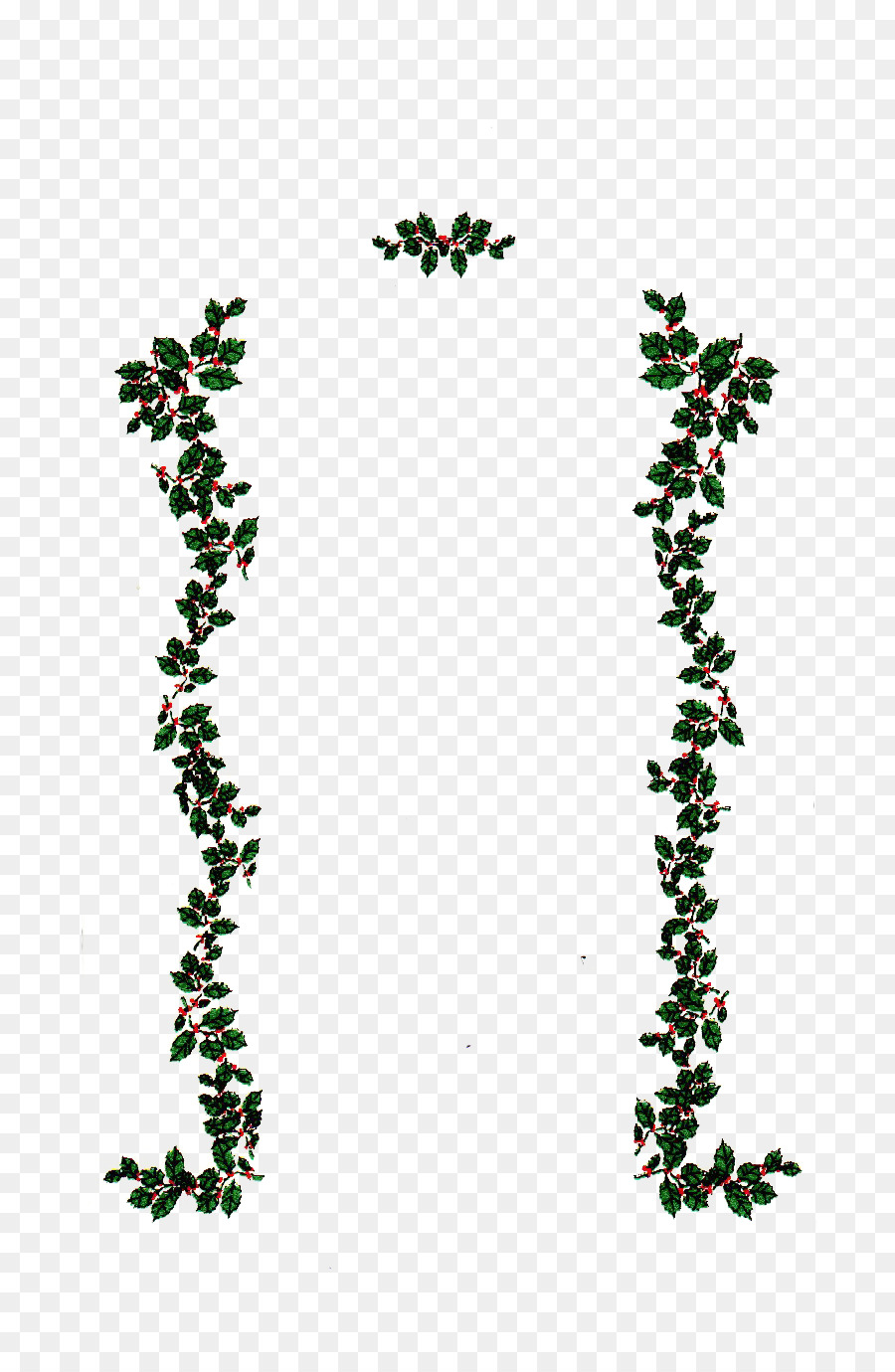 Christmas From Heaven.Christmas Gift Cartoon Clipart Gift Leaf Tree