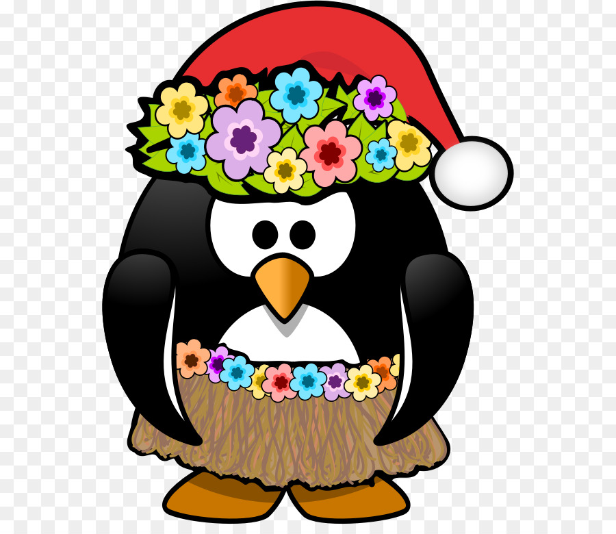 Christmas In July Santa Clipart.Christmas Clip Art Clipart Penguin Flower Graphics