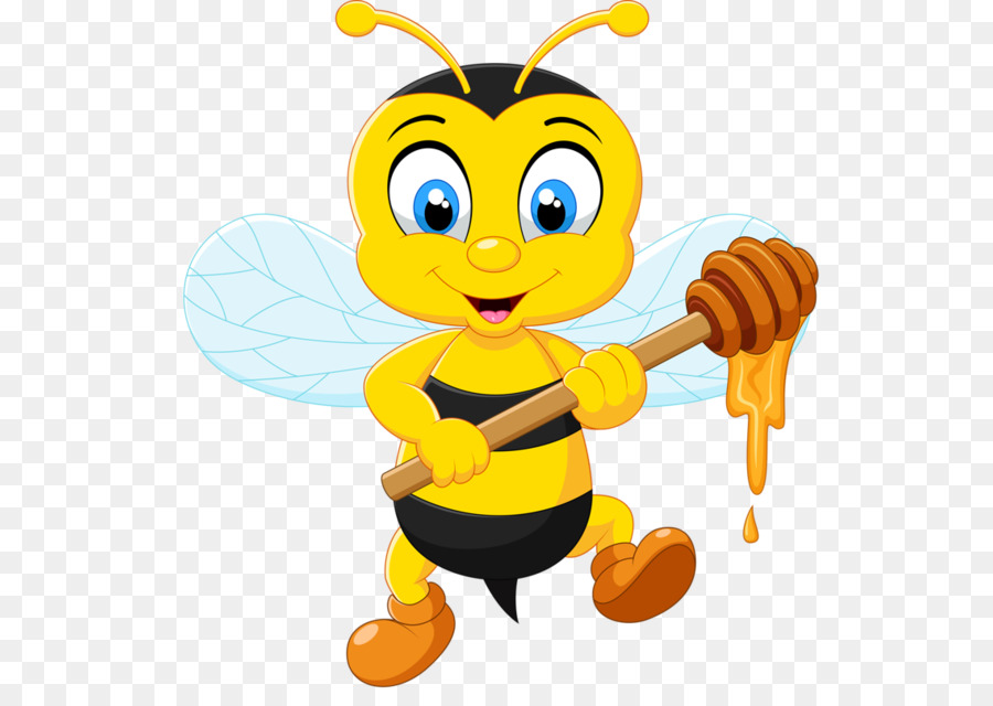 honey bee cartoon clipart Bee Clip art
