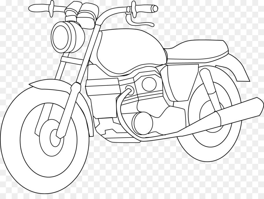 Download Outline Images Of Motor Bike Clipart Motorcycle Harley