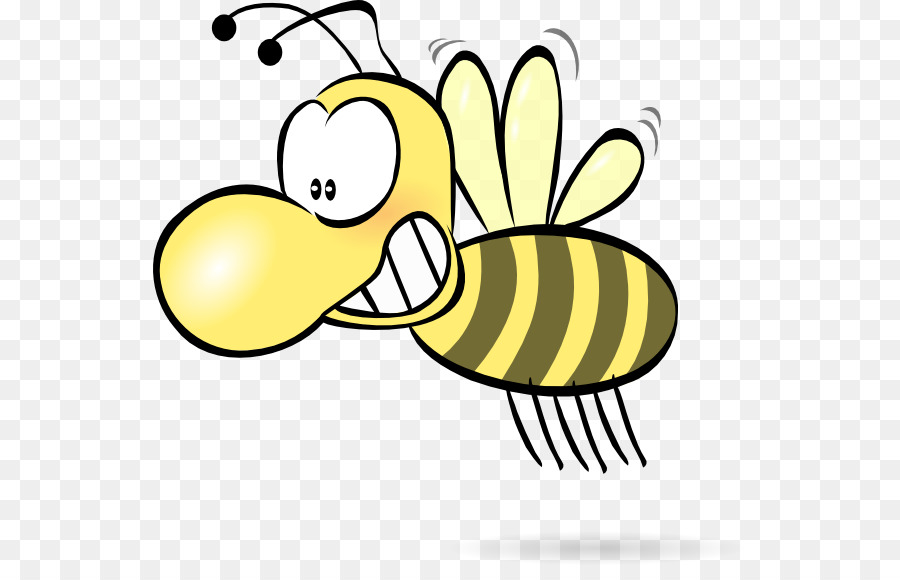 cartoon bee clipart Honey bee Clip art