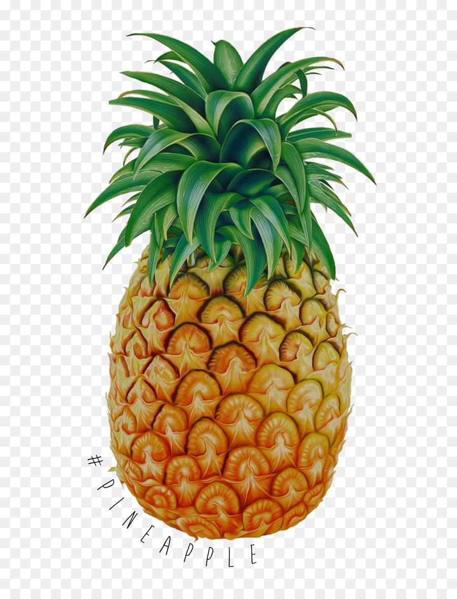 Pineapple Cartoon Clipart Juice Pineapple Ananas