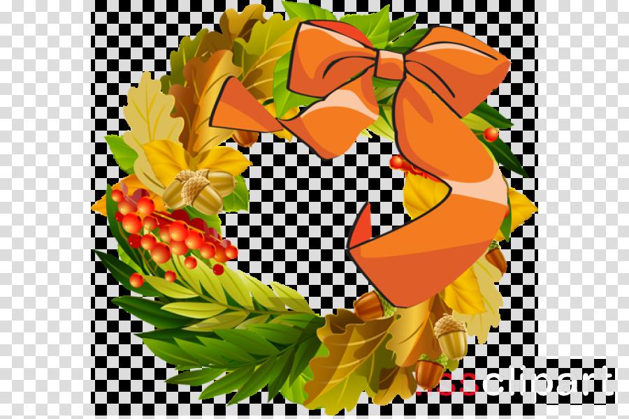 thanksgiving wreath clipart Thanksgiving Wreath Clip art
