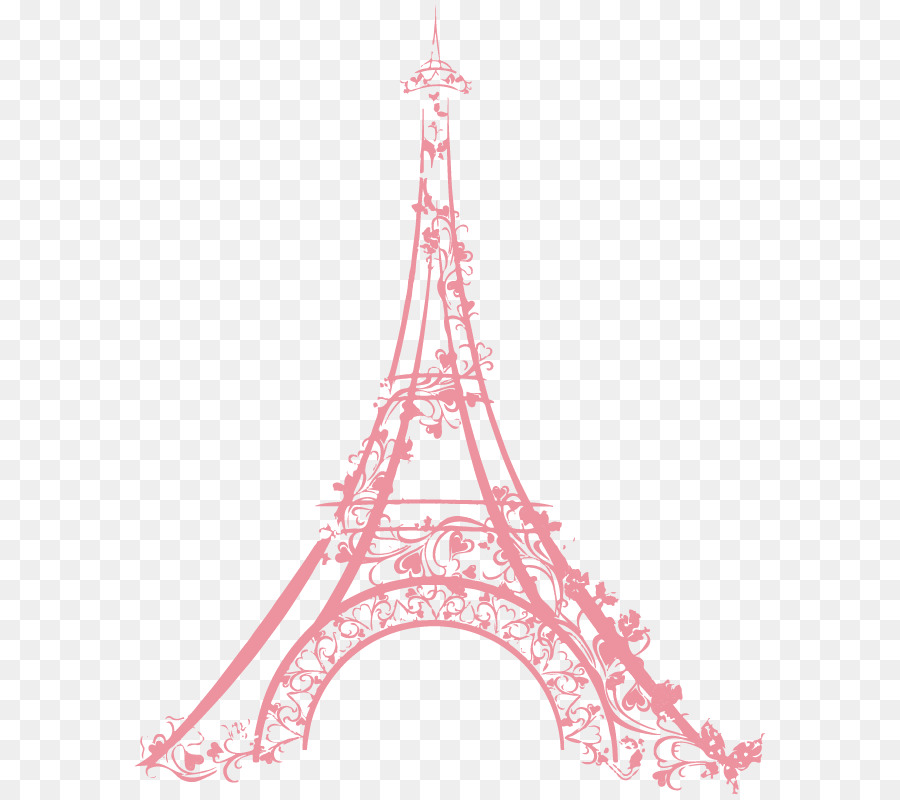 pink eiffel tower png clipart Eiffel Tower Drawing Clip art