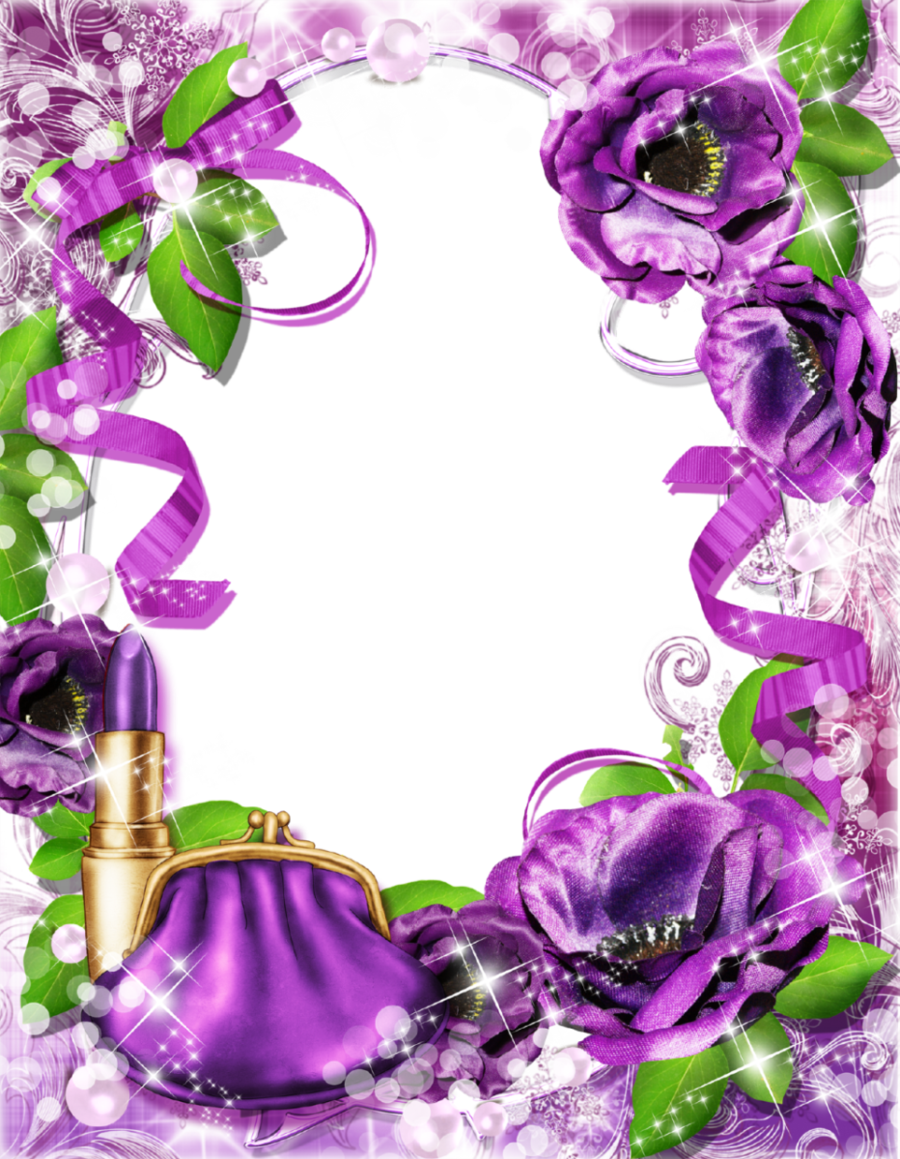 Floral Flower Background Clipart Purple Flower Lavender