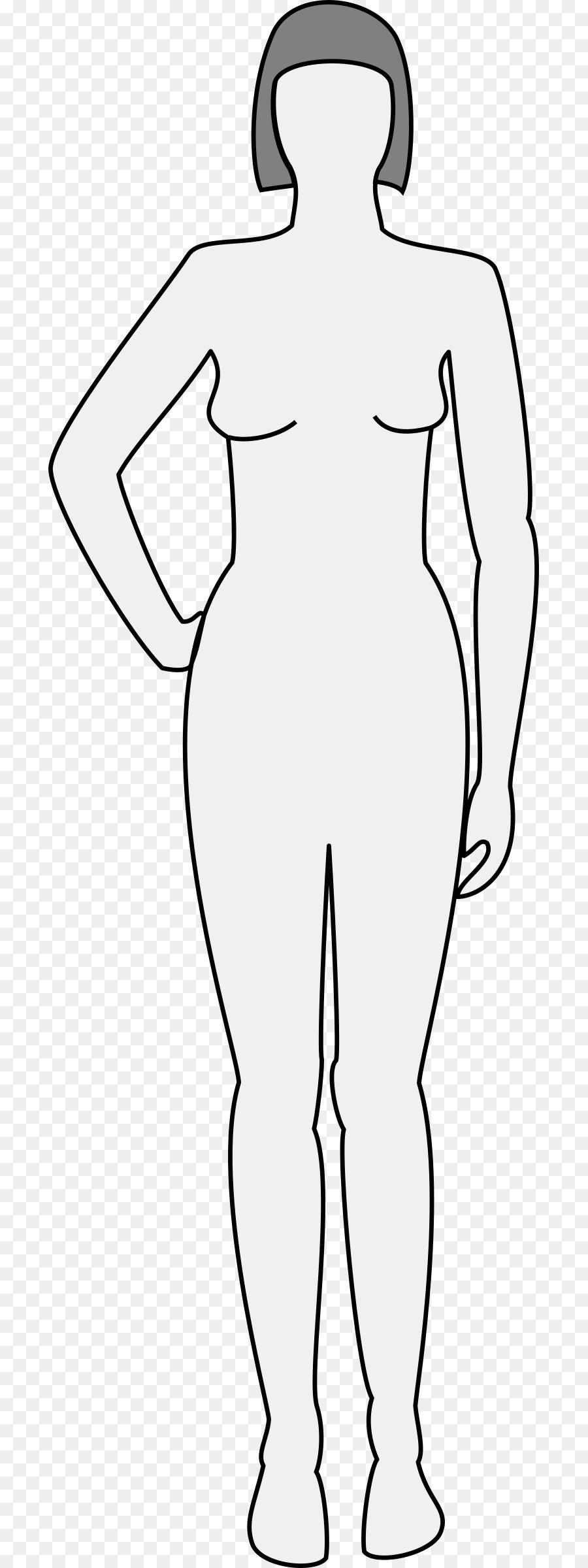 50a5e2857 body outline woman clipart Female body shape Drawing Clip art