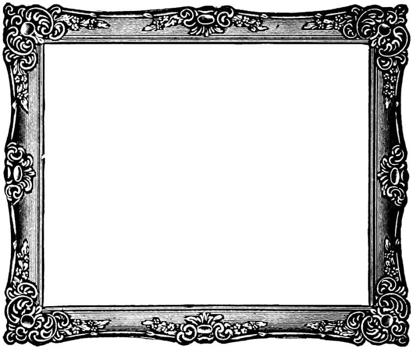 Black And White Frame