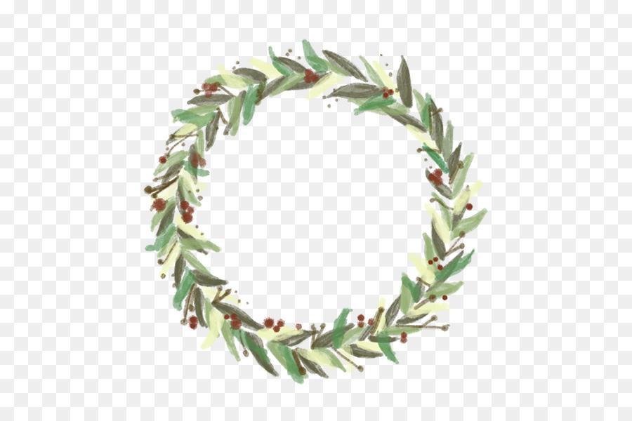 Christmas Wreath Clipart.Watercolor Christmas Wreath Clipart Wreath Drawing