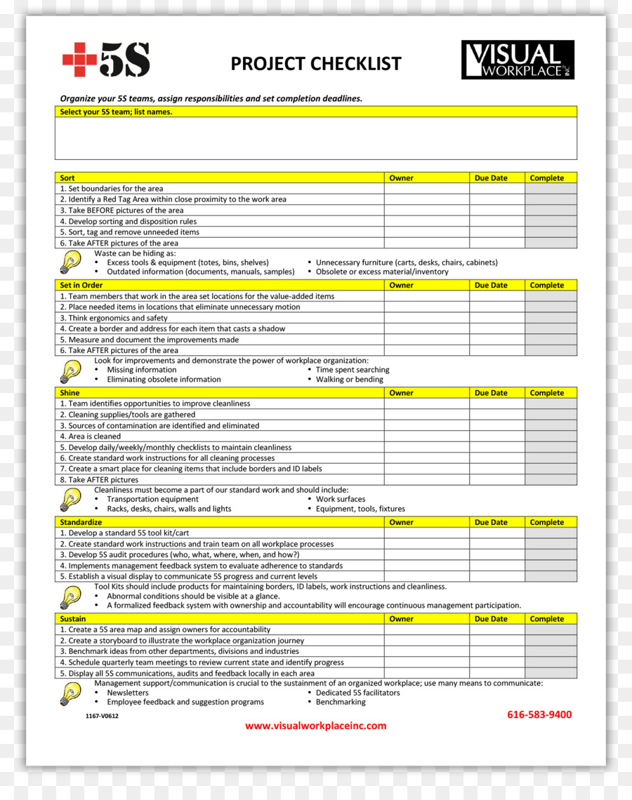 sample project checklist clipart punch list checklist template