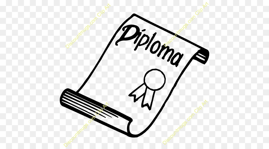 Graduation Cartoon Clipart Diploma Drawing Text Transparent Clip Art