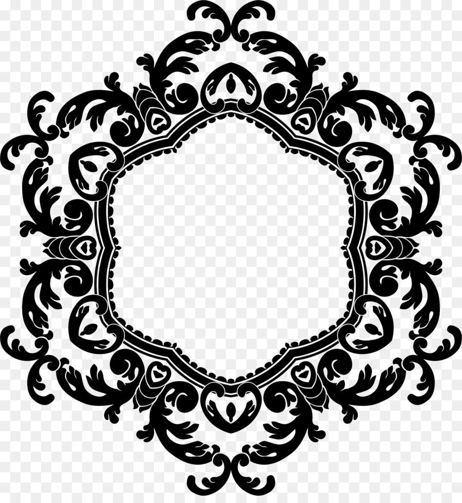 Download Vintage Flower Frame Png Clipart Borders And Frames Clip