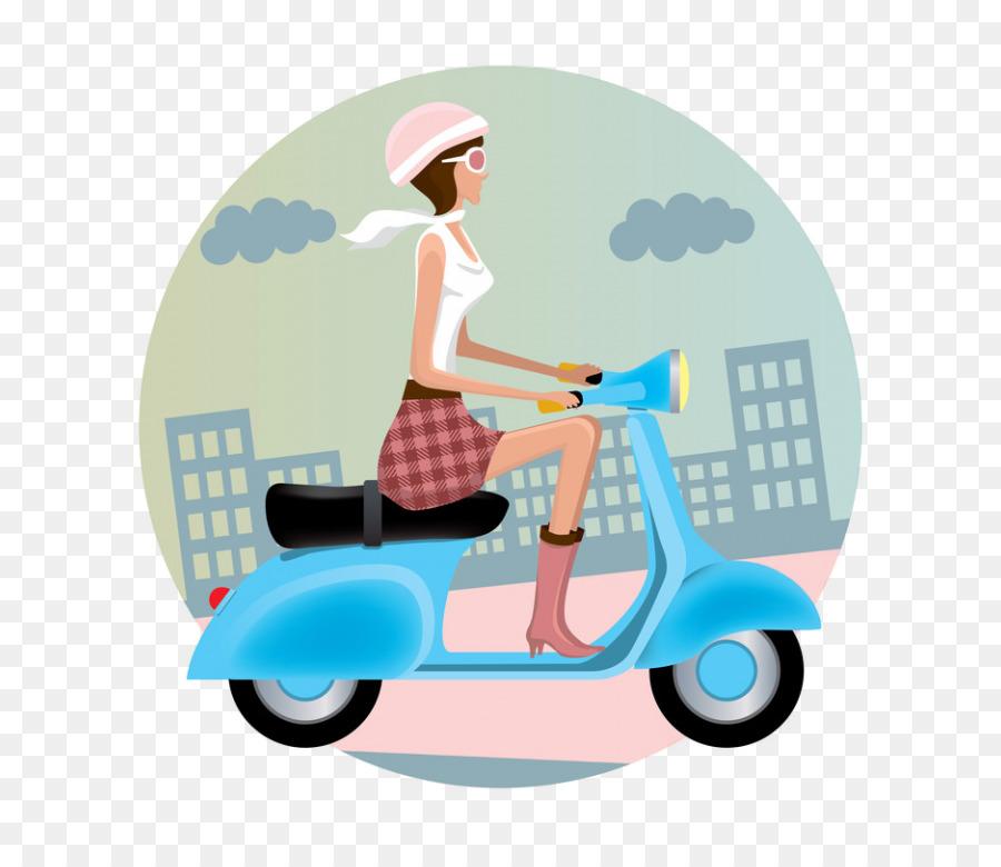 happy birthday vespa clipart Vespa Scooter Motorcycle