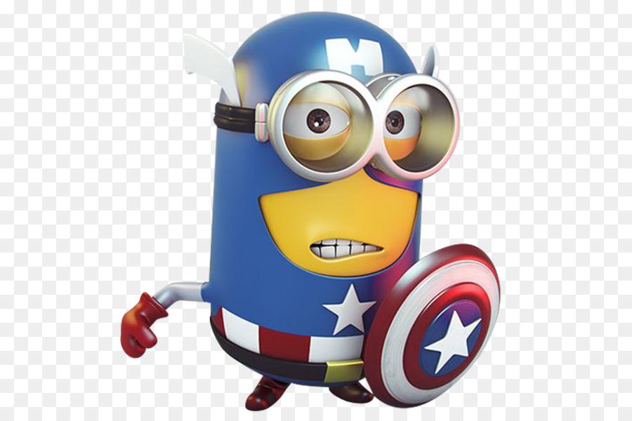 minion captain america clipart Captain America Minions
