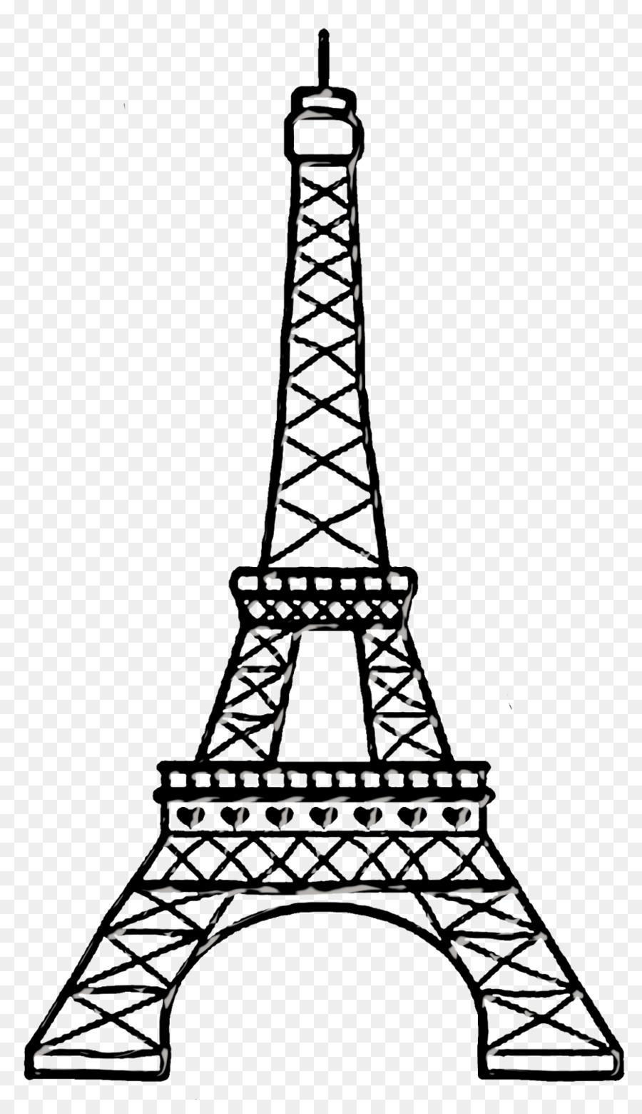 Dibujo de la torre eiffel clipart eiffel tower drawing