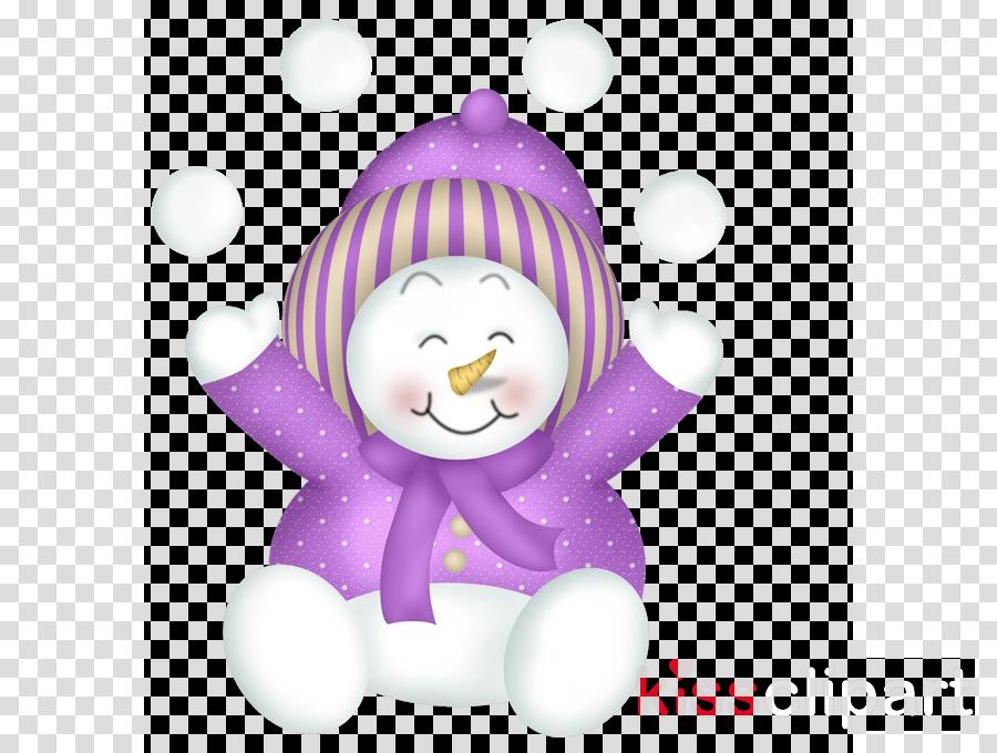 Snowman purple. Graphics pink transparent png