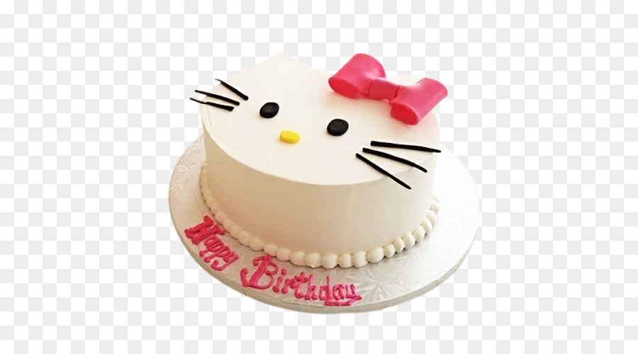 Download Hello Kitty Birthday Cake Png Clipart Buttercream Cake
