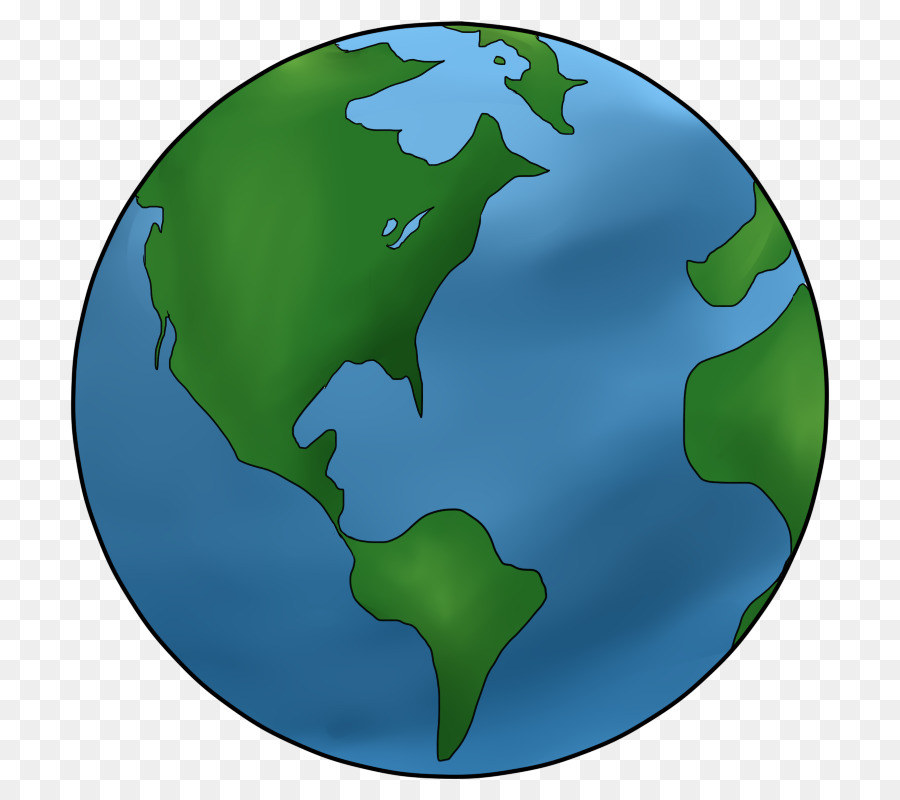 Earth Cartoon Drawing