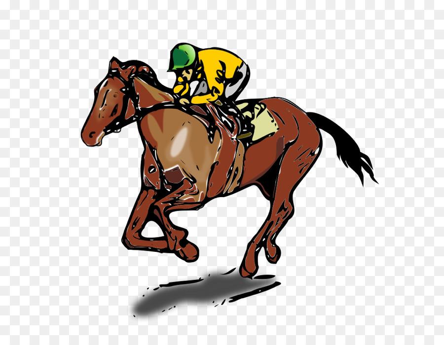 Horse Cartoon Clipart Horse Racing Equestrian Transparent Clip Art