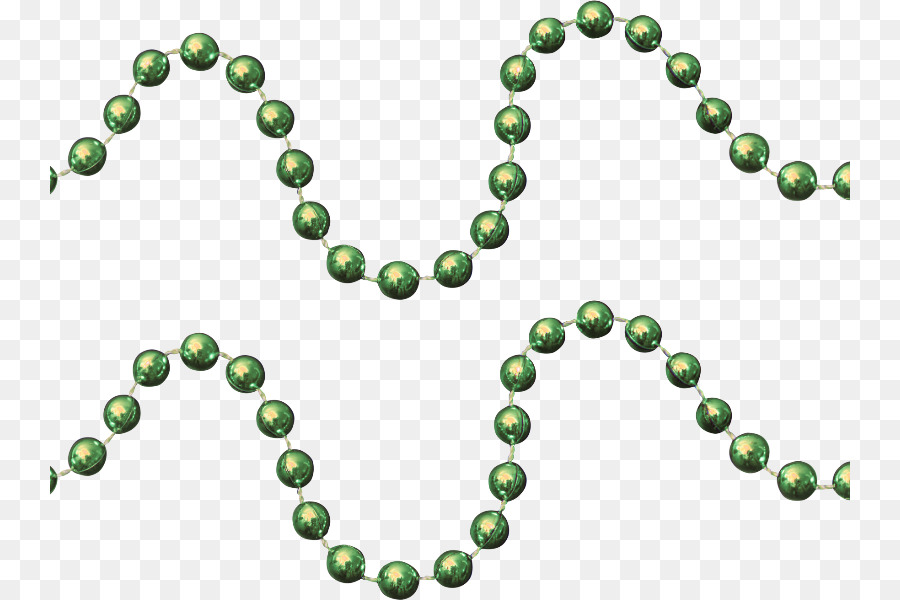 green beads png clipart Beauty Parlour Bead